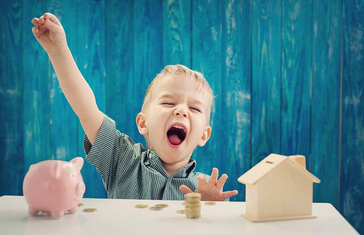 cuenta bancaria para niños