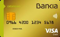 Tarjeta Crédito Oro