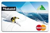 tarjeta esquí