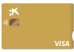 Tarjeta Visa Oro