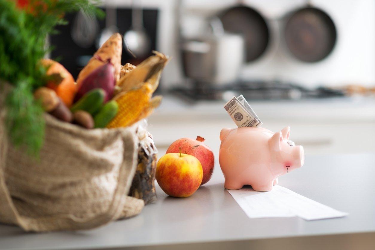 gasto mensual comida