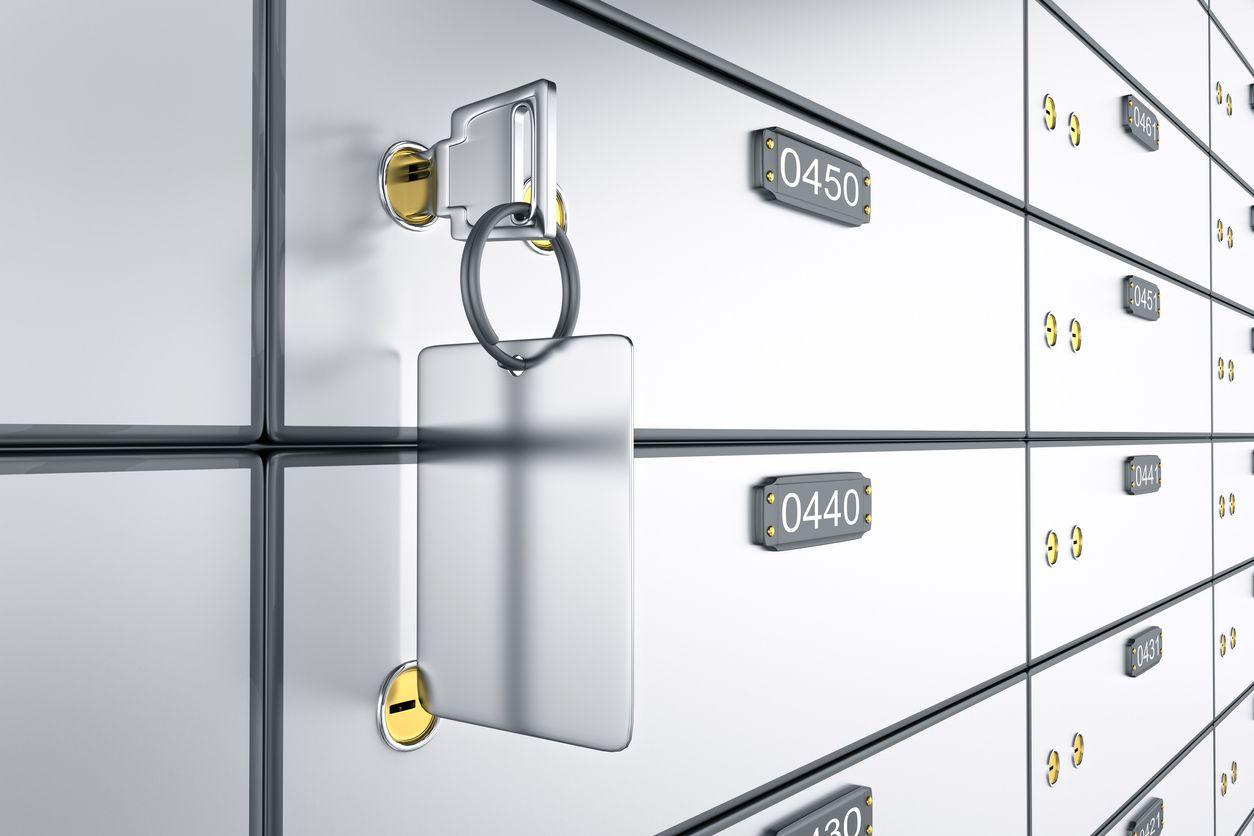 Cajas de seguridad en bancos